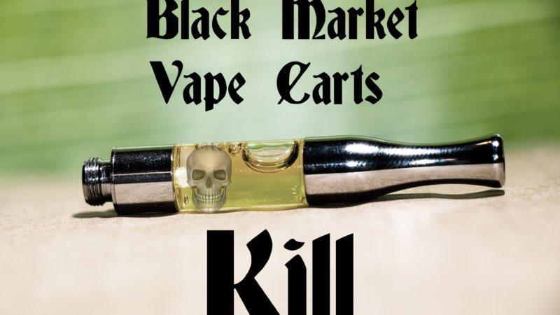 Hydrogen Cyanide found in Black market vape cartridges.