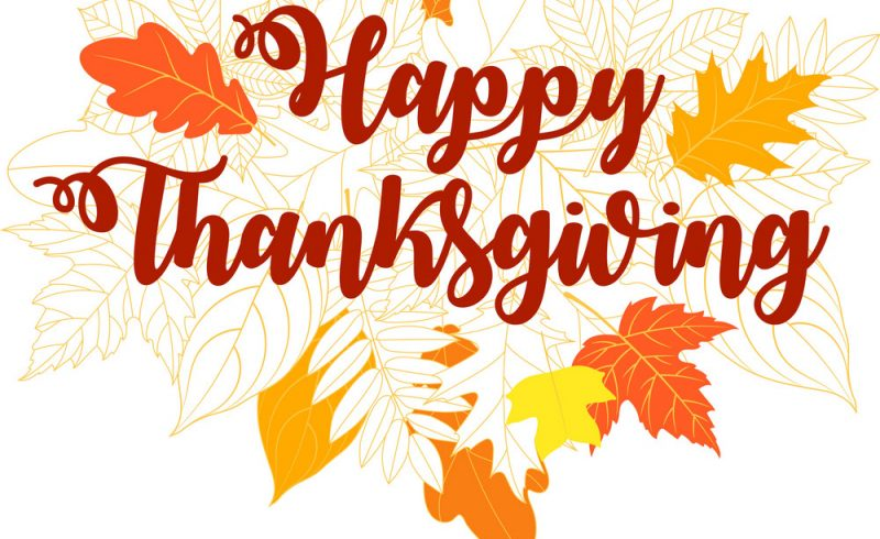 Thanksgiving Week Business Hours