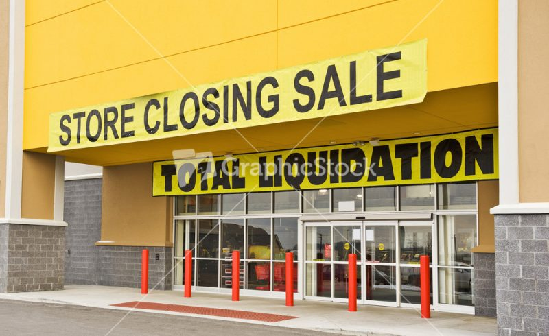 The Retail Apocalypse Continues.
