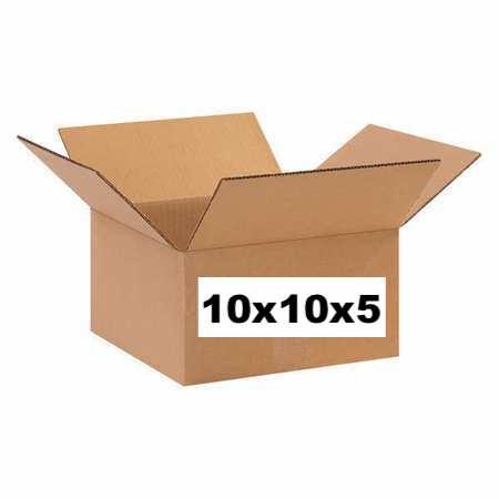 Single Use 10x10x5 Box