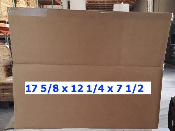 Single-use Unprinted 17.6x12.25x7.5 Box
