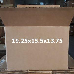 Single-use 19.25x15.5x13.75 Shipping Box