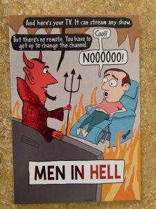 Men's life in hell