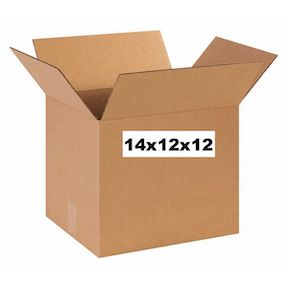 New Unprinted 14x12x12 Box.