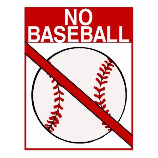 Baseball season is over.