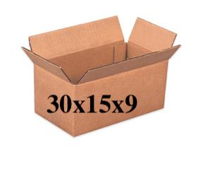 New New Unprinted 30x15x9 Box